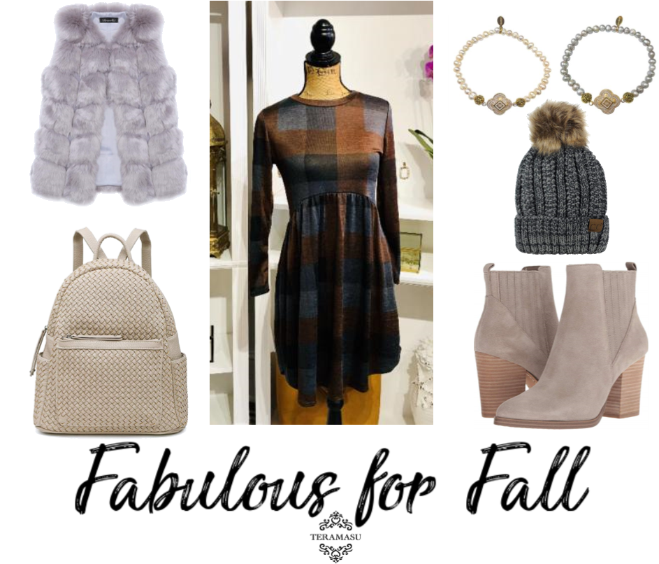 Living Ladylike: Fabulous New Arrivals and Plaid Outfit Inspiration for Fall from Teramasu