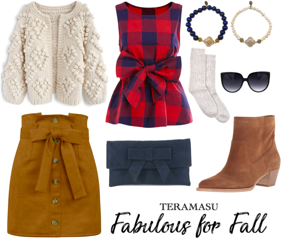 Living Ladylike: Pretty in Plaid Fabulous Outfit Inspiration for Fall from Teramasu