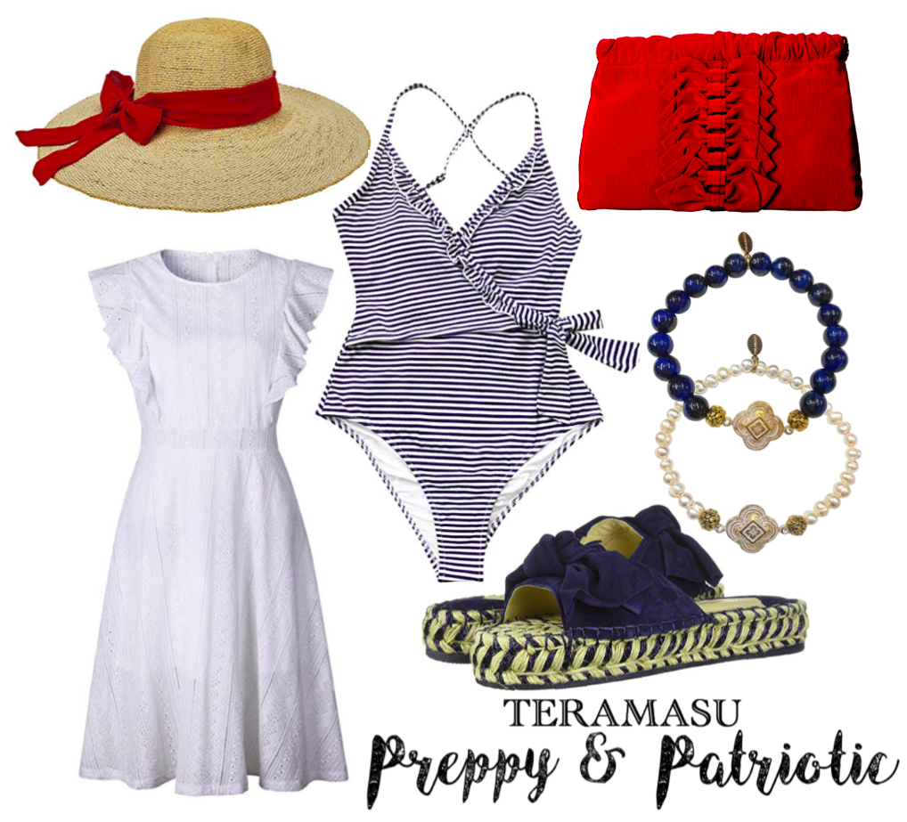 """Want It"" Wednesday: Preppy & Patriotic Outfit Inspiration for the Fourth of July from Teramasu"
