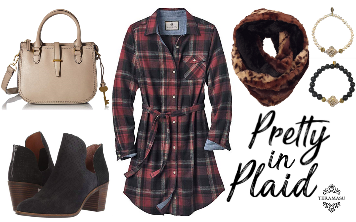 Living Ladylike: Pretty in Plaid Outfit Inspiration for Your One-of-a-Kind Fall Style from Teramasu