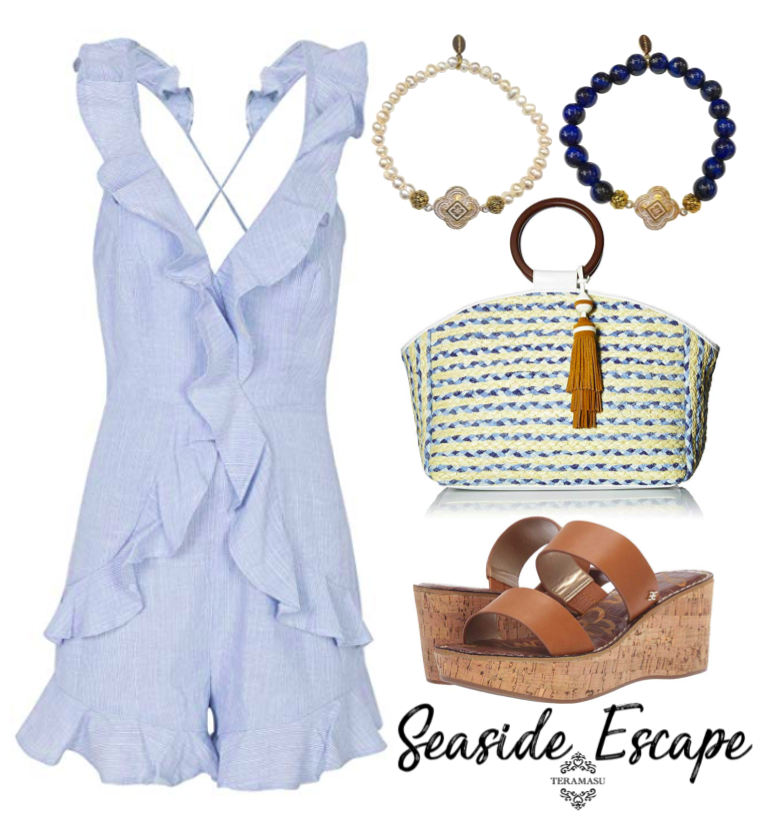 Fashion Friday: Classic in Blue Summer Outfit Inspiration for Your Seaside Escape from Teramasu