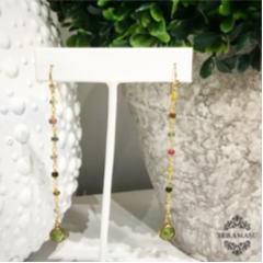 """Want It"" Wednesday: The Teramasu Tourmaline and Peridot Drop Earrings are the Perfect October Birthstone Gift!"
