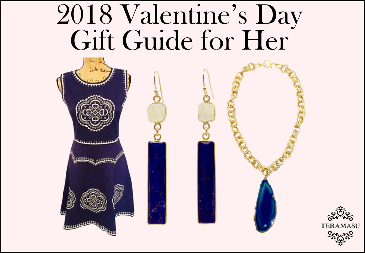 Something Navy: Valentine's Gifts She'll Love from Teramasu