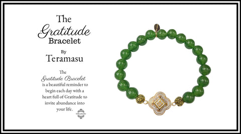 The Teramasu Gratitude Bracelet Collection