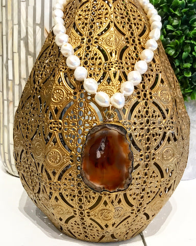 Friday Favorite: The Perfect Classic & Neutral Statement Necklace from Teramasu