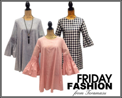 Fashion Friday: Adorable Bell Sleeves from Teramasu