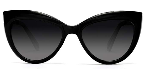 Black Over-sized Sunglasses