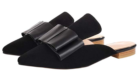 Black Mule with Bow