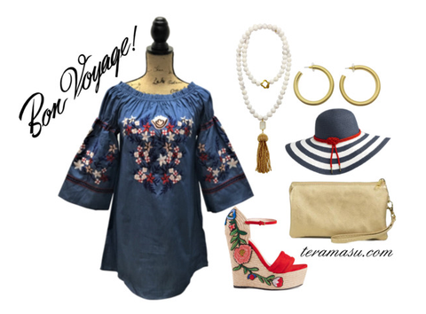 Living Ladylike: Gorgeous, Vacation-Inspired New Arrivals from Teramasu