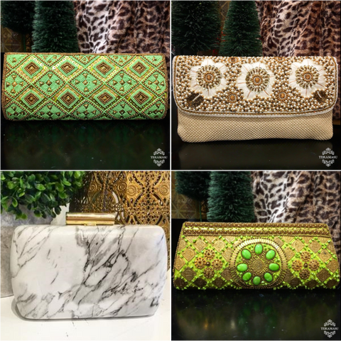 Monday Must-Haves: The Perfect Evening Bags and One of a Kind Clutches for Your Holiday Season Style from Teramasu