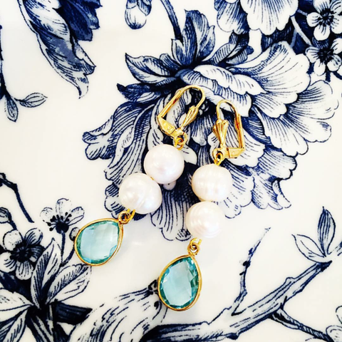 Chic Peek: The Perfect Earring for Spring from Teramasu