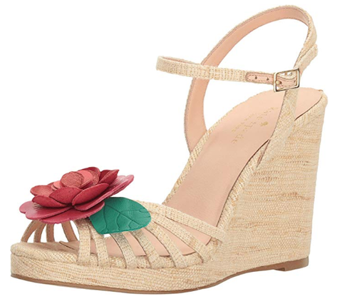 Floral Wedge Sandal