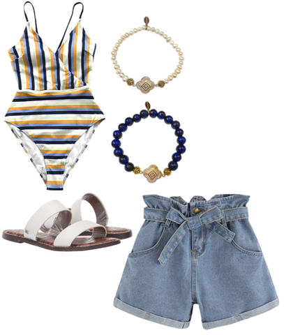 Jean Shorts Outfit Inspiration