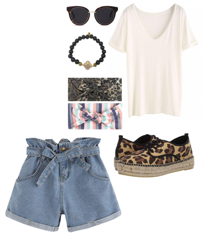 Denim Shorts Outfit Inspiration