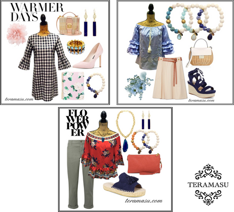 Living Ladylike: Spring-worthy Outfit Inspiration from Teramasu