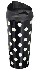 Polka Dot Travel Mug