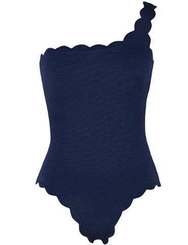 Navy Blue Swimsuit