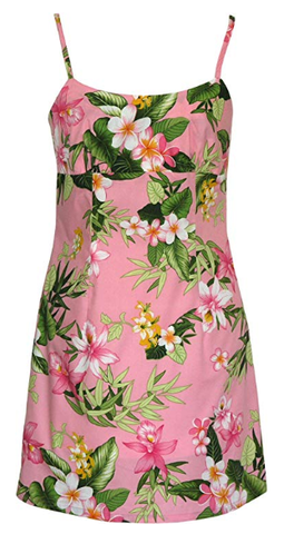 Pink and Green Floral Sundress