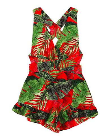 Tropical Romper