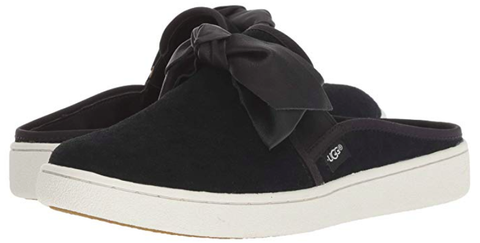 Black Bow Sneakers