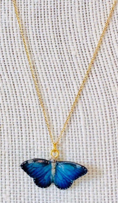 Butterfly Gold Chain Necklace