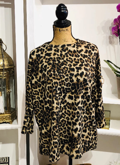 Feeling Sassy Leopard Sweater