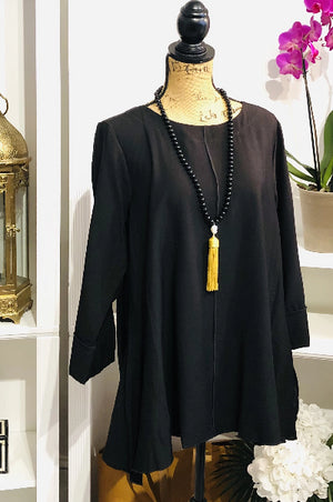 If You Want Love Blouse in Black