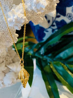 Teramasu Under the Sea Shell Charm Necklace From The Coastal Collection of Teramasu