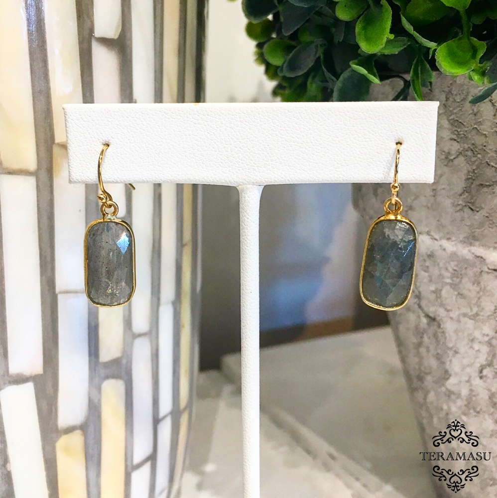 Teramasu Labradorite Drop Earrings