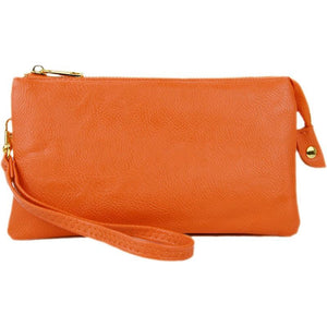 Teramasu Clutch Wallet Crossbody Wristlet Purse Assorted Colors