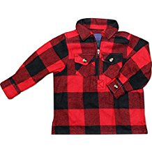 Lil Hickory - Buffalo Plaid, 1/4 zip - Infant, Toddler, Youth