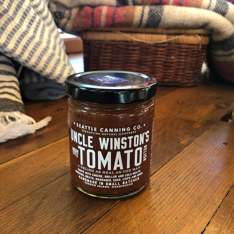 Uncle Winston's Tomato Relish from Seattle Canning