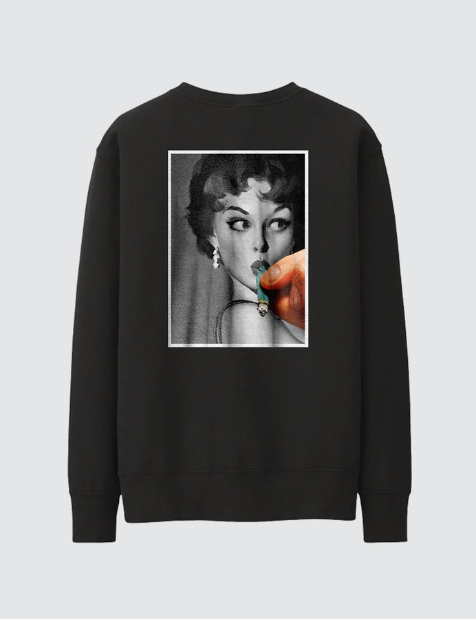 LADY SMOKER CREWNECK