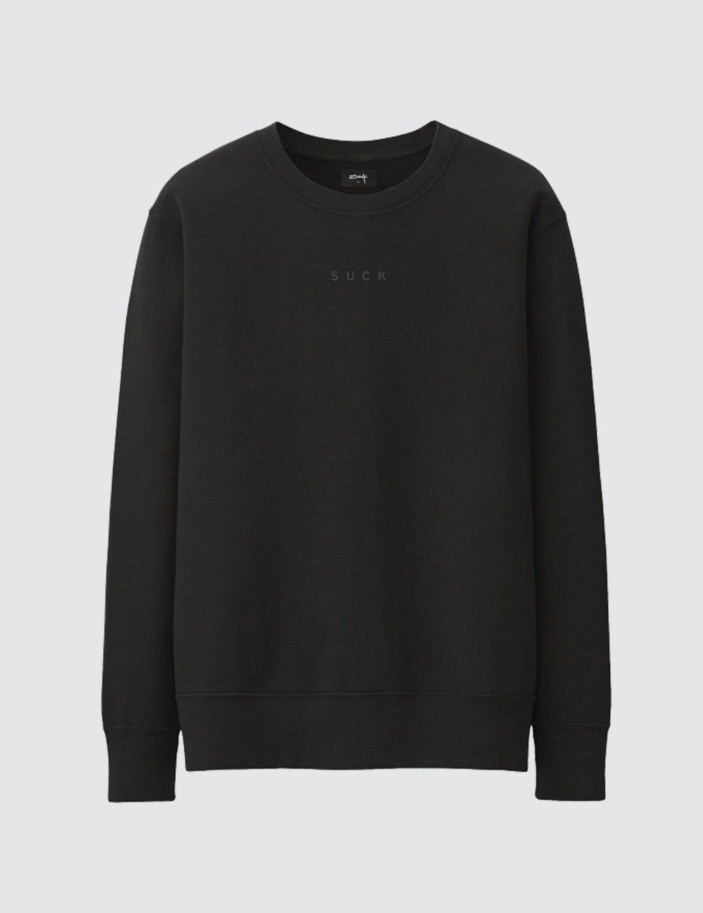 LADY SMOKER CREWNECK - SUCK