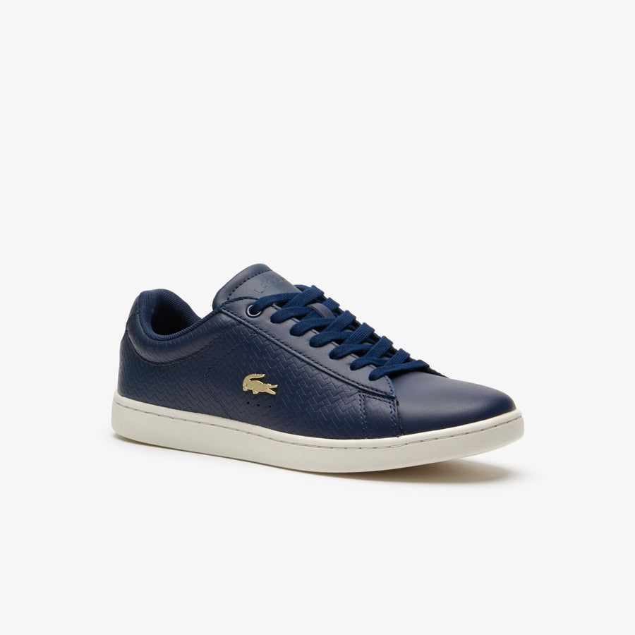Women's Carnaby Evo Leather Trainers--Navy/Off White
