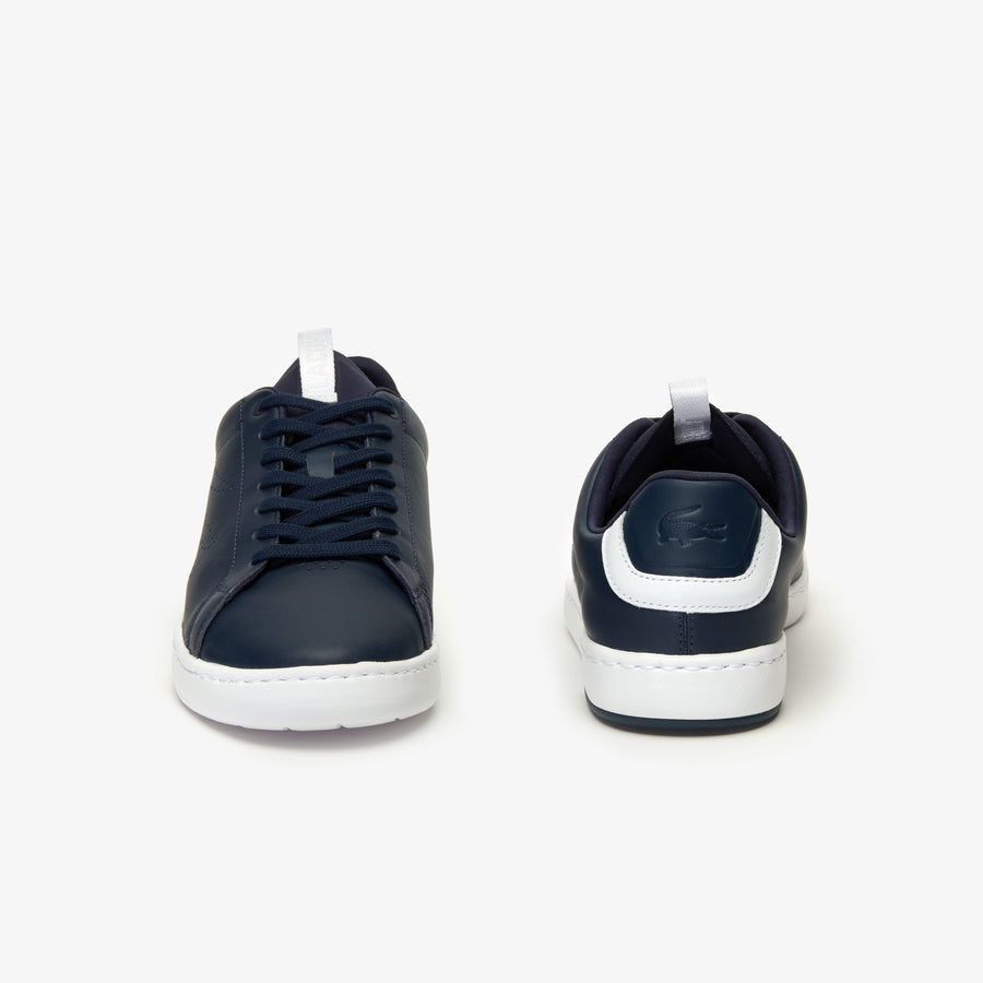 Men's Carnaby Evo Lightweight Leather Trainers--Navy/White