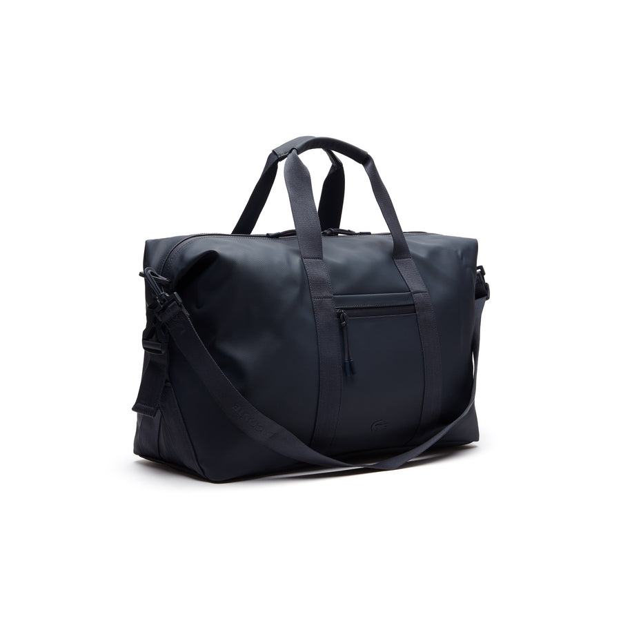 Men's L.12.12 Concept Petit Piqué Weekend Bag--Total Eclipse