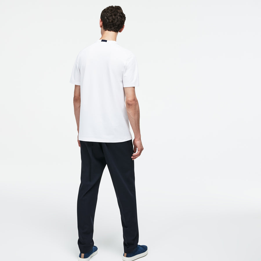 Men's Lacoste Motion Crew Neck Technical Petit Piqué T-shirt