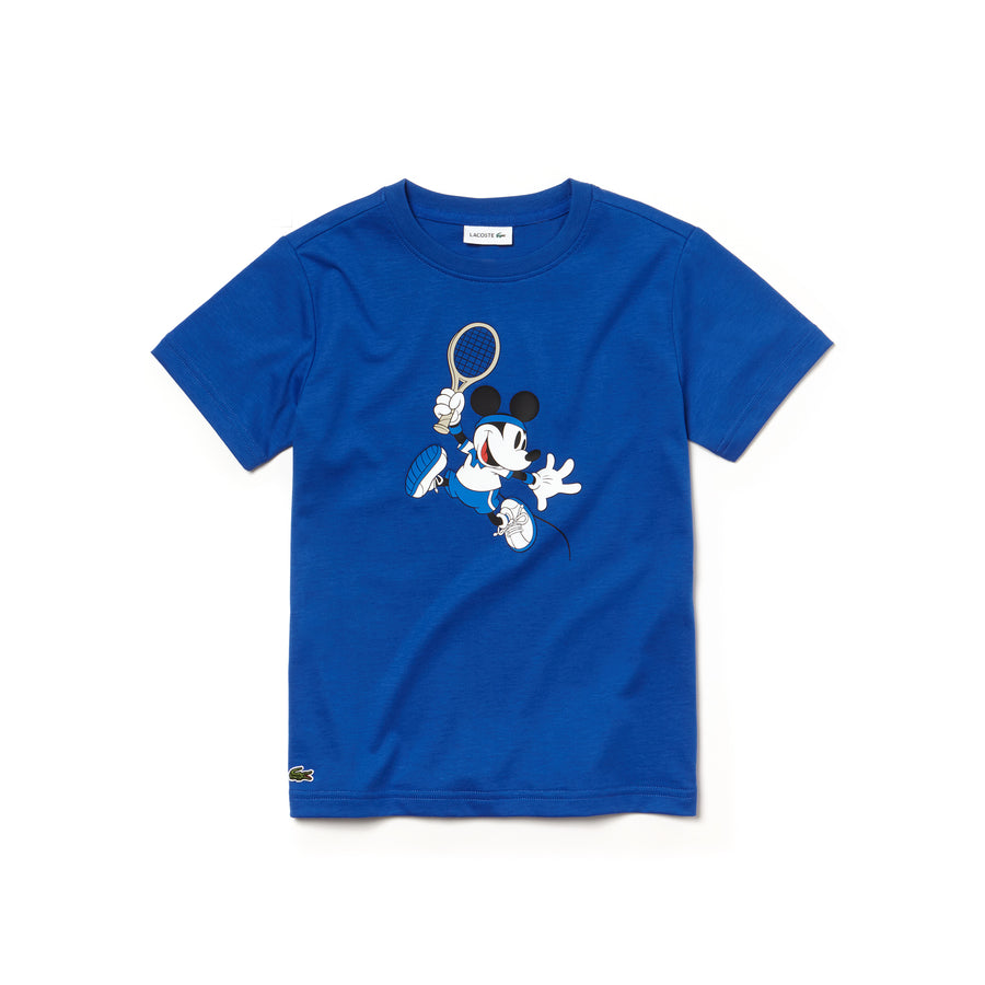 Boys' Disney Mickey Print Jersey T-shirt--Steamer