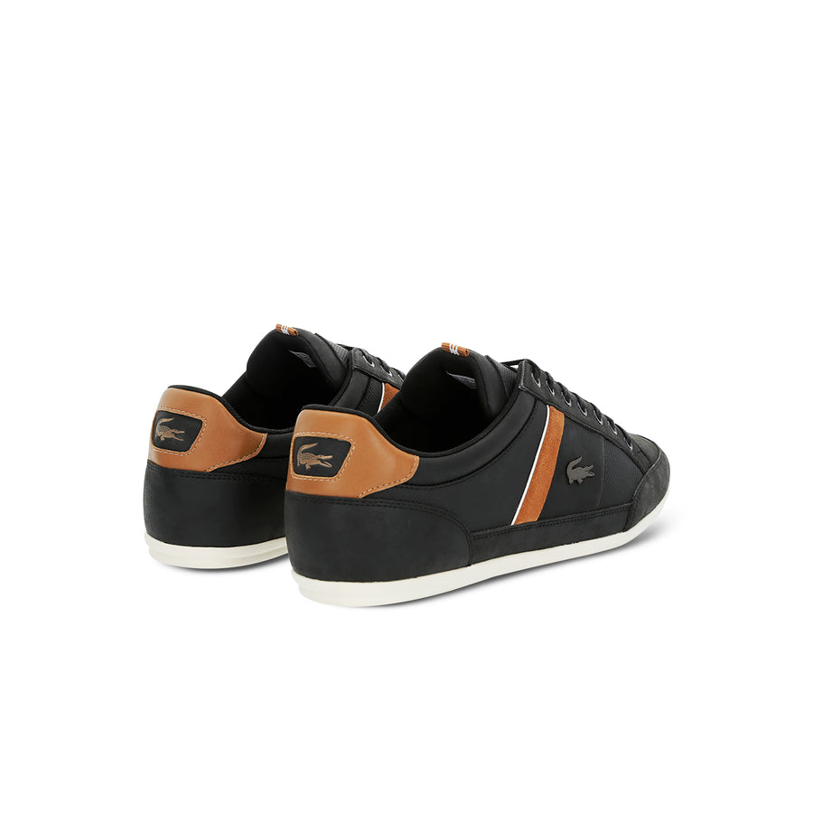 Men's Chaymon Synthetic Sneakers--Black/Light Brown