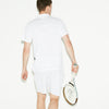 Men's SPORT Colorblock Ultra Light Cotton Tennis Polo Shirt