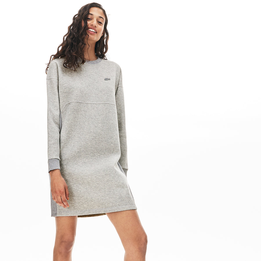 Women's Lacoste Motion Sweatshirt Dress