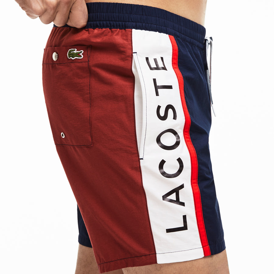 Men's Colorblock Swim Trunks