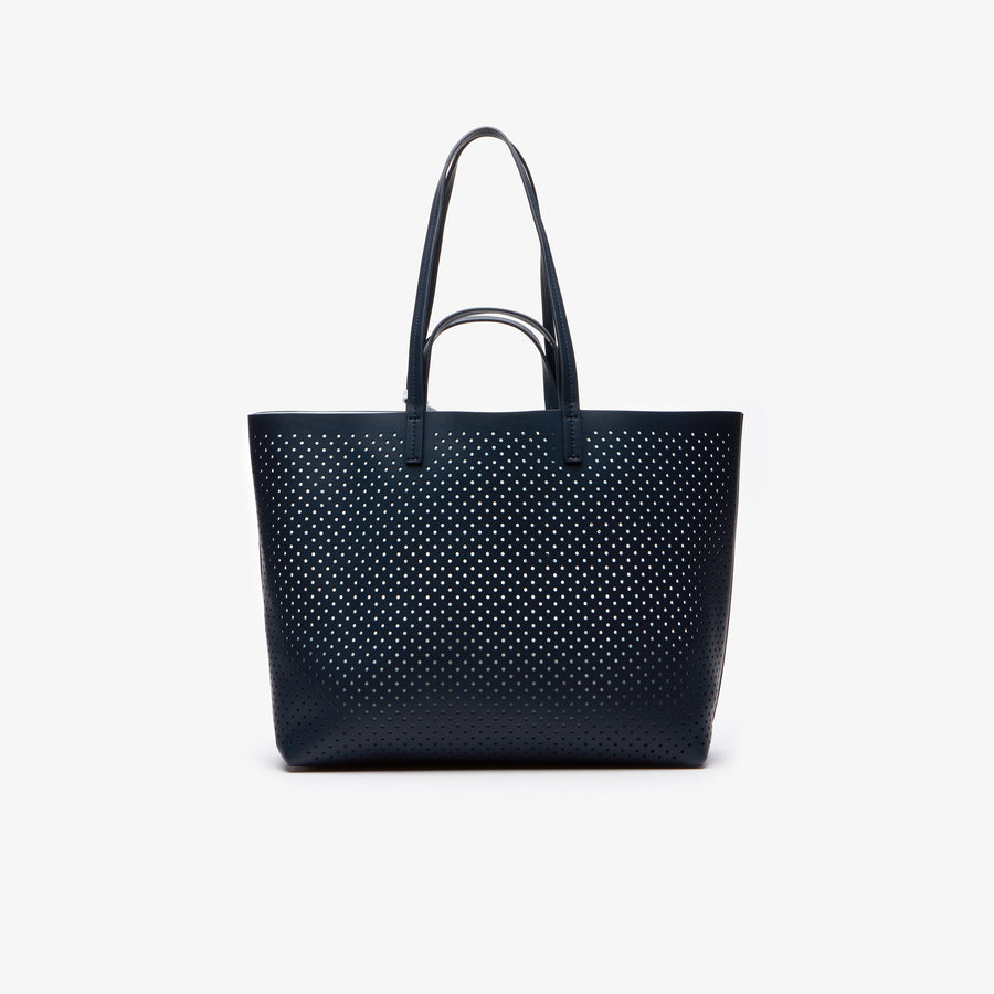 Women's Anna Reversible Leather Shopping Bag