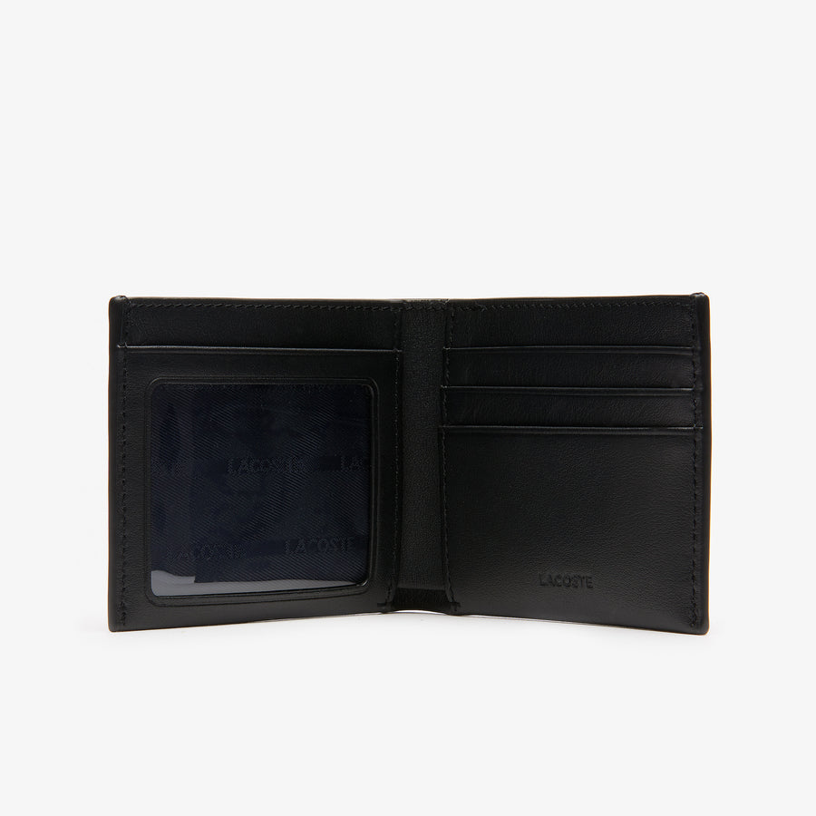 Men's L.12.12 Leather Slim Billfold with ID Slot--Black