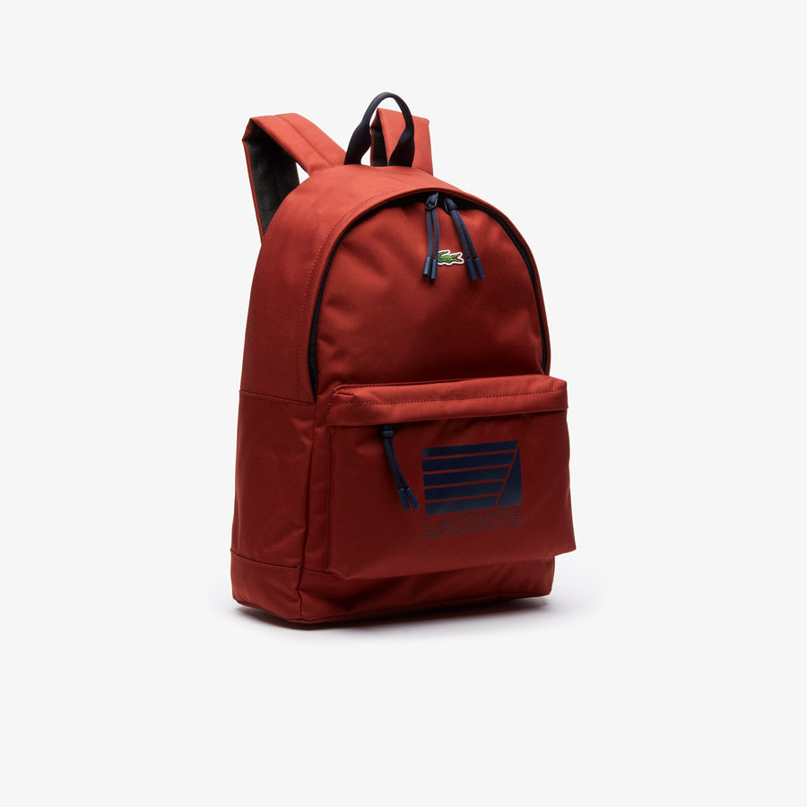 Men's Neocroc Nautical Backpack--Henna Lacoste