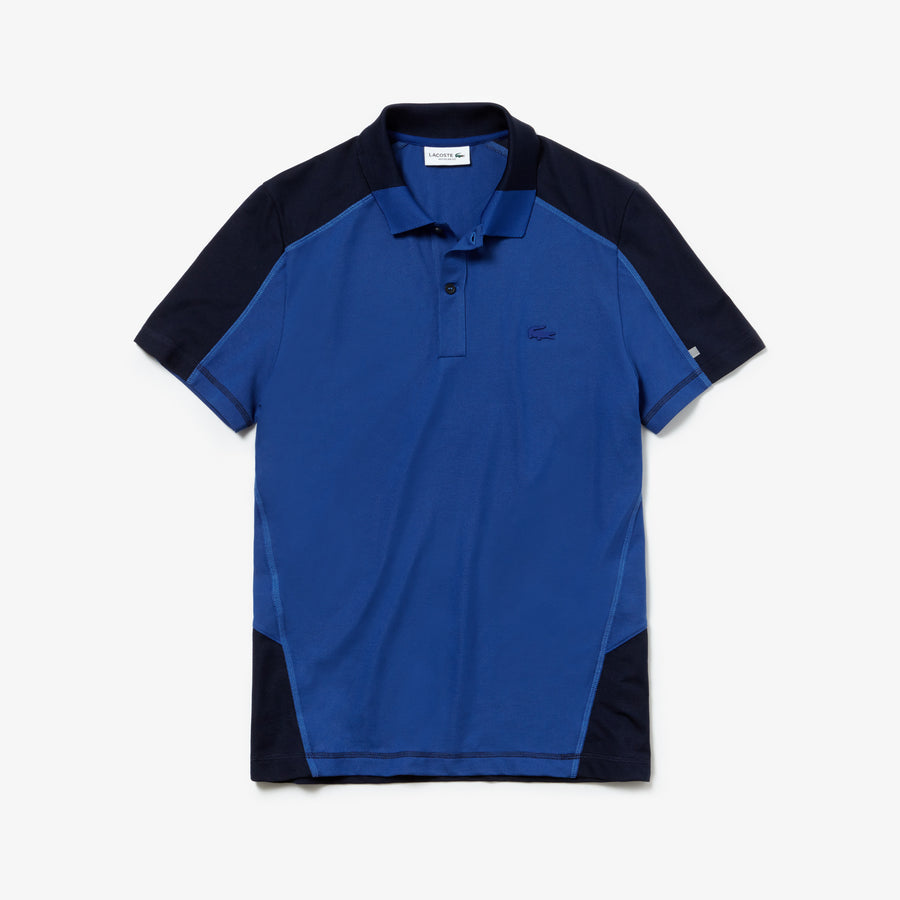 Men's Motion Cotton Polo Piqué--Captain/Navy Blue