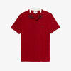 Men's Colorblock Collar Cotton Piqué Polo Shirt