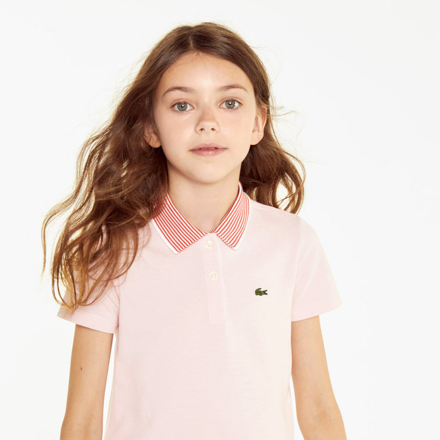 Girls' Petit Piqué Polo Shirt--Nidus