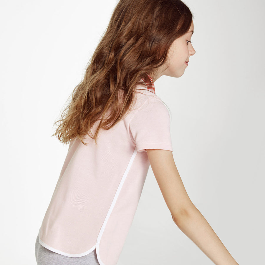 Girls' Petit Piqué Polo Shirt